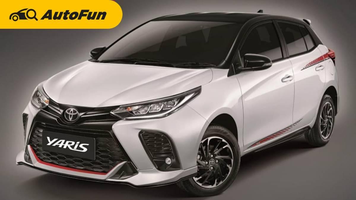 Toyota Yaris Facelift 2021