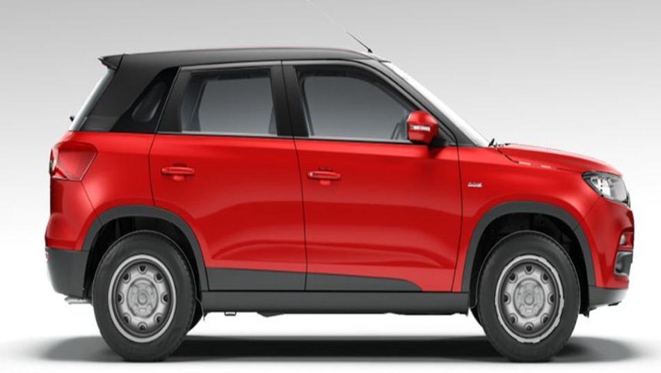 Suzuki Vitara Brezza 2019 Exterior 006