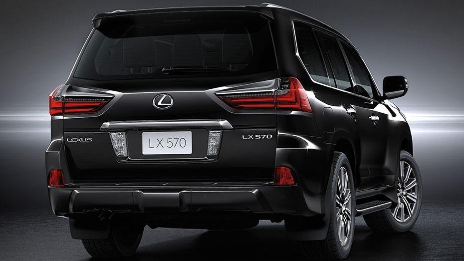 Lexus LX 2019 Exterior 004