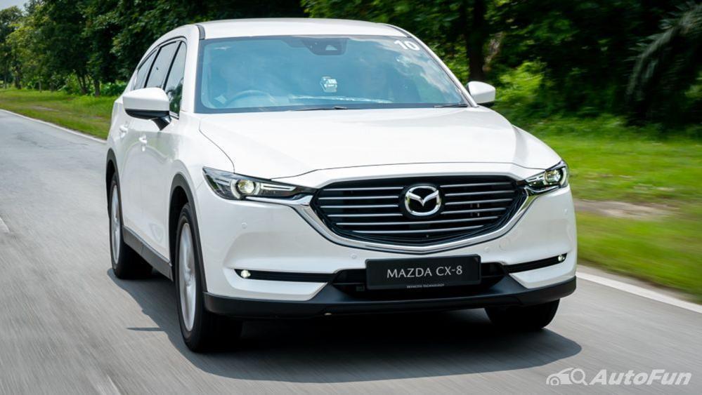 Mazda CX 8 2019 Exterior 008