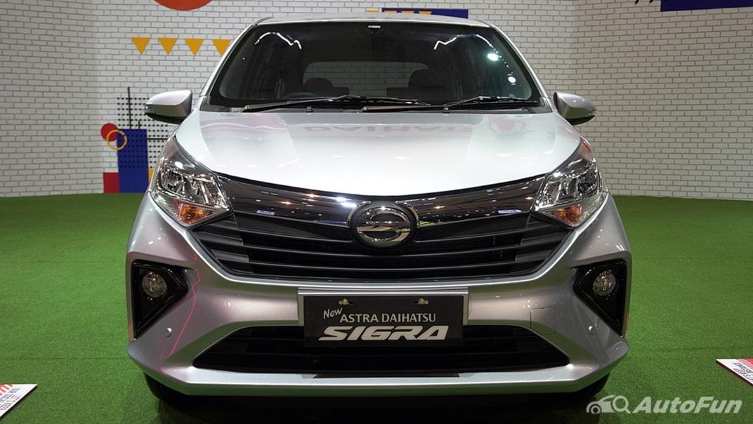 2021 Daihatsu Sigra Exterior 002