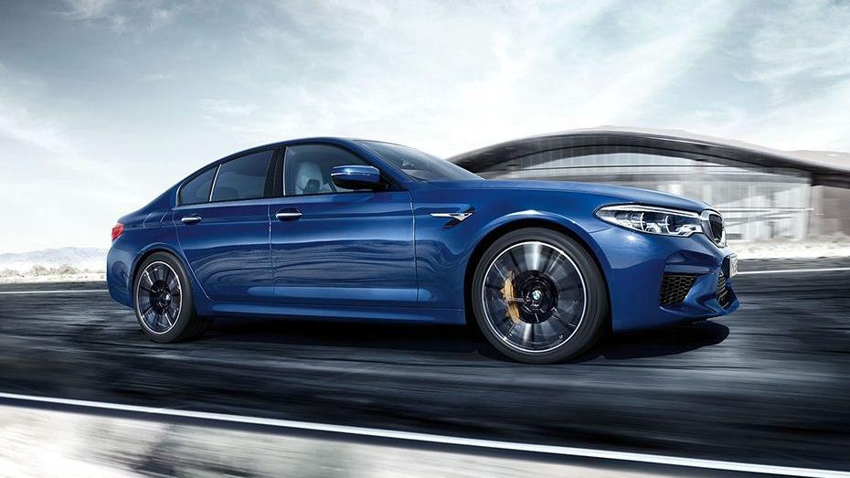 BMW M5 2019 Exterior 003