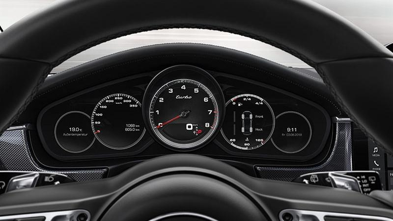 Porsche Panamera 2019 Interior 002