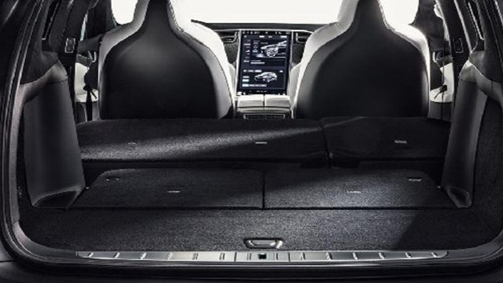 Tesla Model X 2019 Interior 010