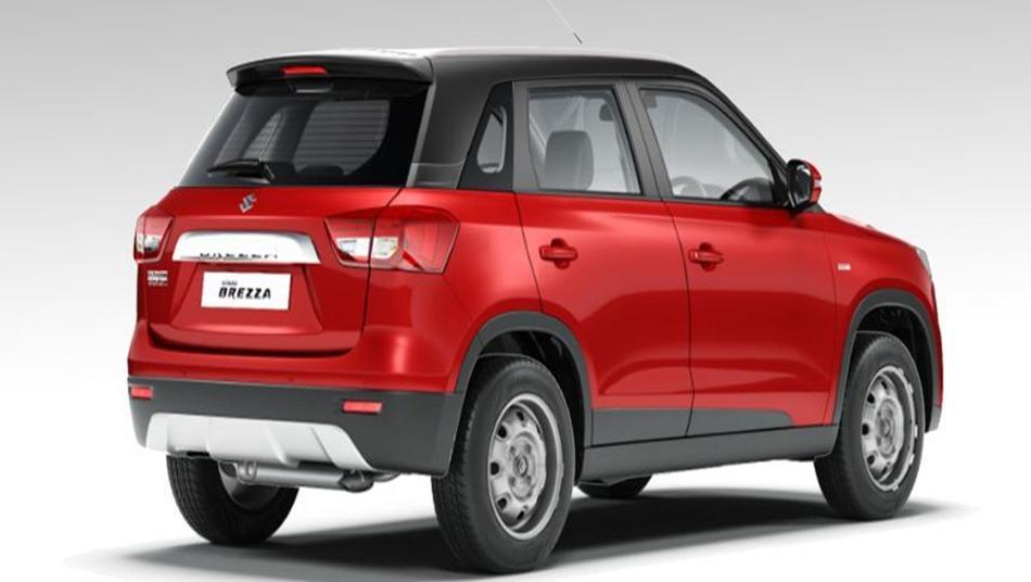 Suzuki Vitara Brezza 2019 Exterior 004