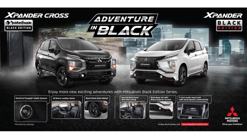 Meski Lebih Mahal, Mitsubishi Xpander Cross Rockford Fosgate Black Edition Kembali Dijual 02