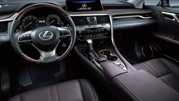 Lexus RX 2019 Interior 001