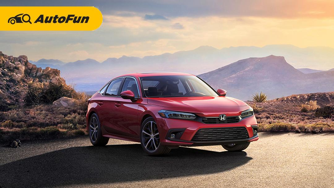 Honda Pelihatkan Sosok Honda Civic 2022, Siap Debut Pada 28 April Mendatang! 01