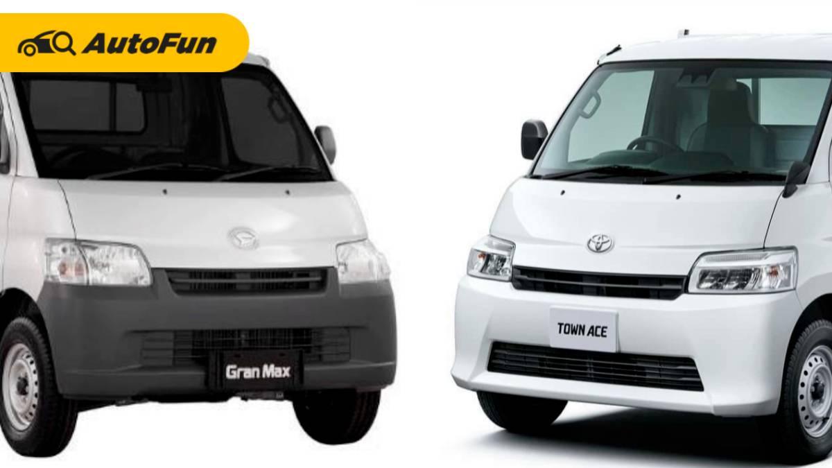 Kulik Perbedaan Daihatsu Gran Max vs Toyota Town Ace, Ada Matiknya Plus Sudah Pakai TSS 01