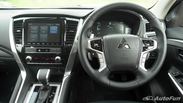 2021 Mitsubishi Pajero Sport Dakar Ultimate 4x4 AT Interior 003