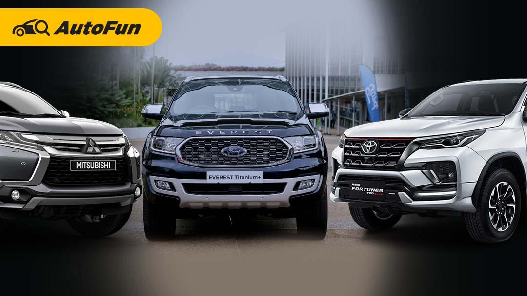 Ford Everest 2021 Resmi Diluncurkan, Toyota New Fortuner dan Mitsubishi Pajero Wajib Waspada! 01
