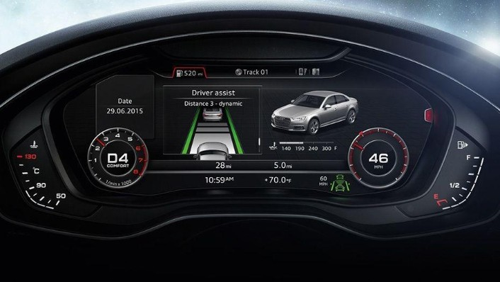 Audi A4 2019 Interior 006