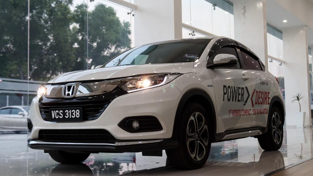 Honda HRV 2019 Exterior 001