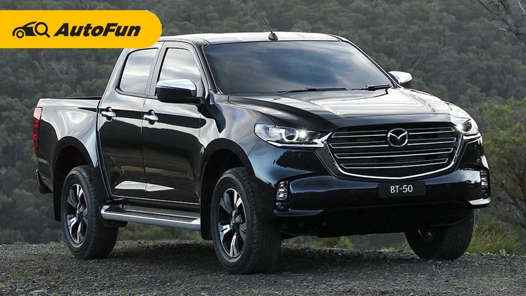 Mazda BT-50 2021 Siap Tantang Mitsubishi Triton dan Toyota Hilux di Indonesia 01