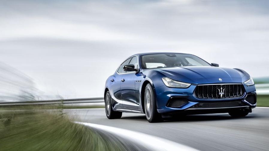 Maserati Quattroporte 2019 Exterior 012
