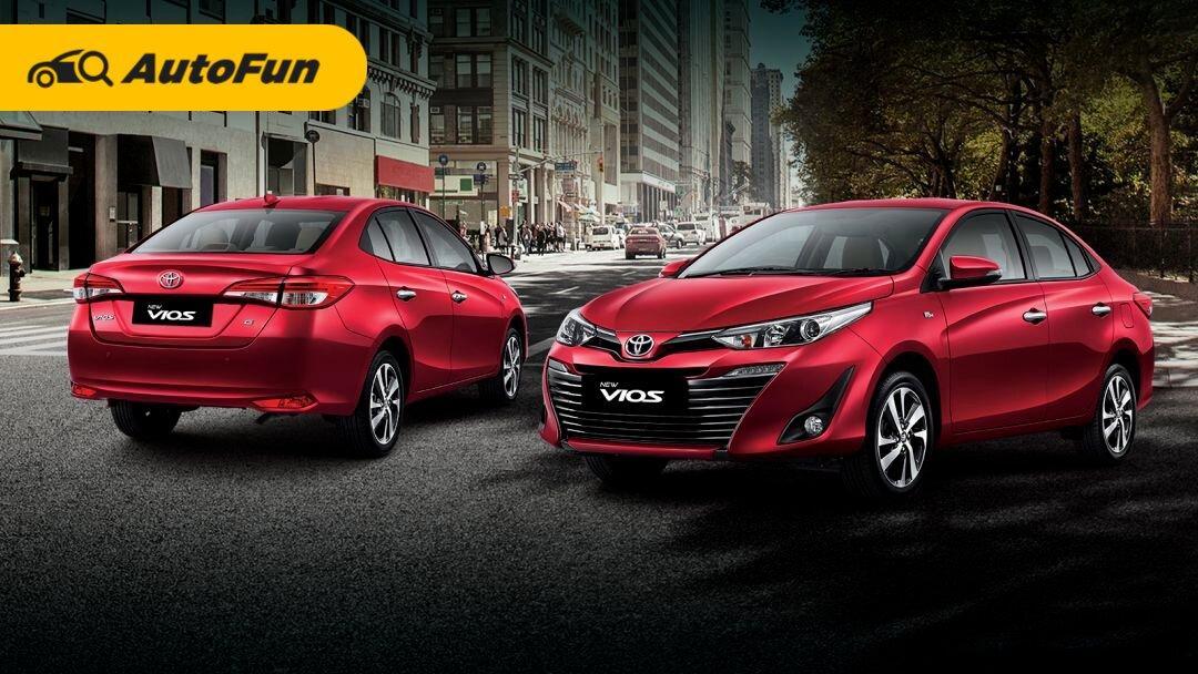 Resmi Naik Bulan Ini, Segini Jadinya Harga Baru Sedan Toyota Vios dengan Diskon PPNBM 01