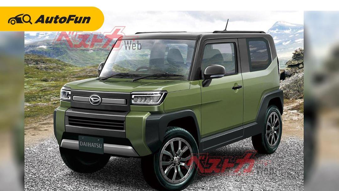 Setelah Daihatsu Rocky 2021, Daihatsu akan Siapkan SUV baru pesaing Suzuki Jimny 01