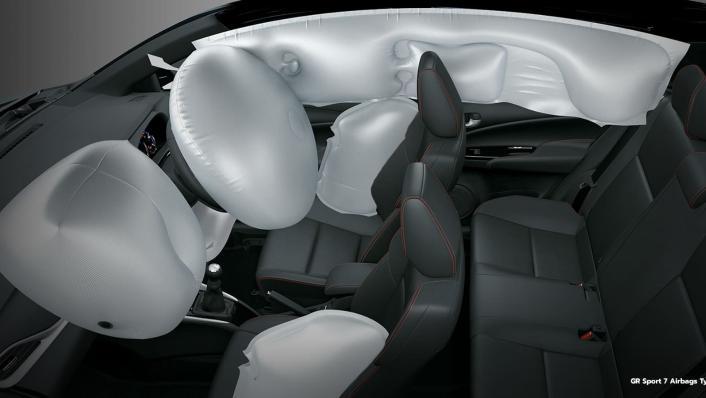 2021 Toyota Yaris 1.5 S CVT GR Sport 7 AB Interior 009