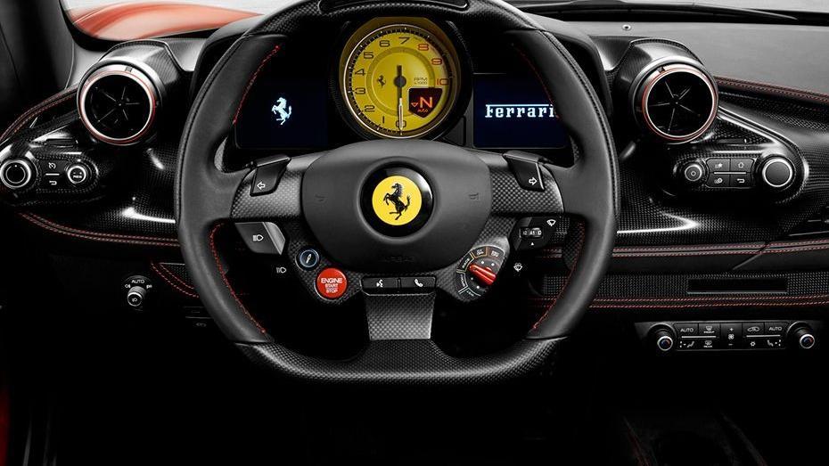 Ferrari F8 Tributo 2019 Interior 002