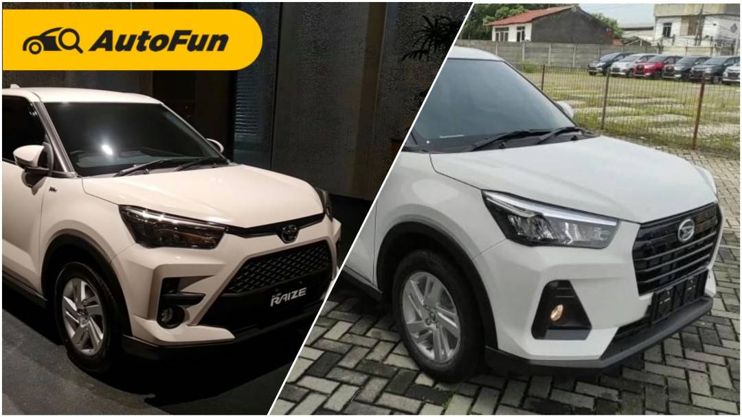Perbandingan Daihatsu Rocky 1.2 X CVT vs Toyota Raize 1.2 G CVT, Toyota Jual Kemahalan? 01