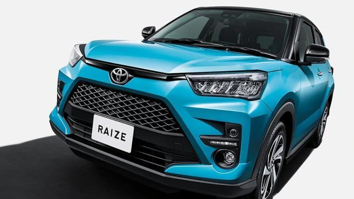2021 Toyota Raize Upcoming Version Exterior 001