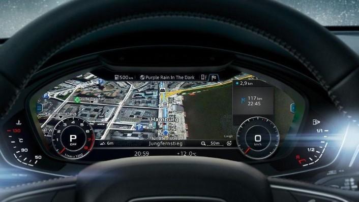 Audi A4 2019 Interior 005