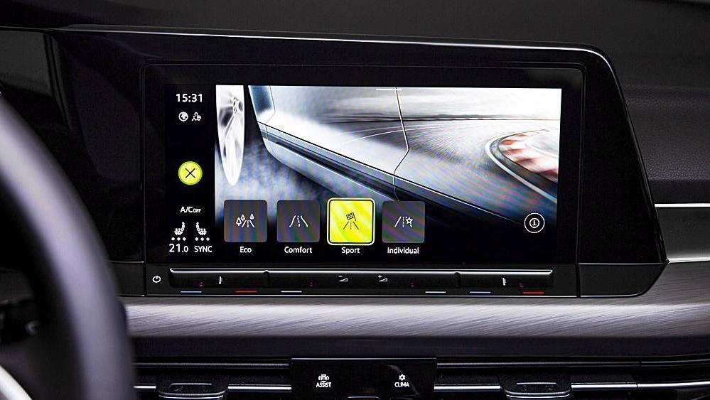 Volkswagen Golf 2019 Interior 073