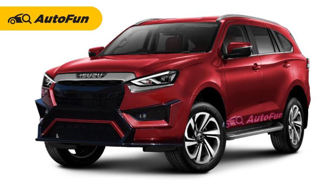 Aksesoris Balap Bikin Isuzu MU-X 2021 Terlihat Lebih Gagah dan Sporty, Apakah Toyota Fortuner Dapat Tersaingi? 01