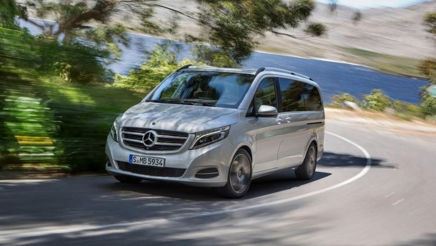 Mercedes-Benz V-Class 2019 Exterior 003