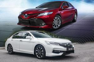 Apakah Honda Accord Lebih Unggul dari Toyota Camry 2.5 V?