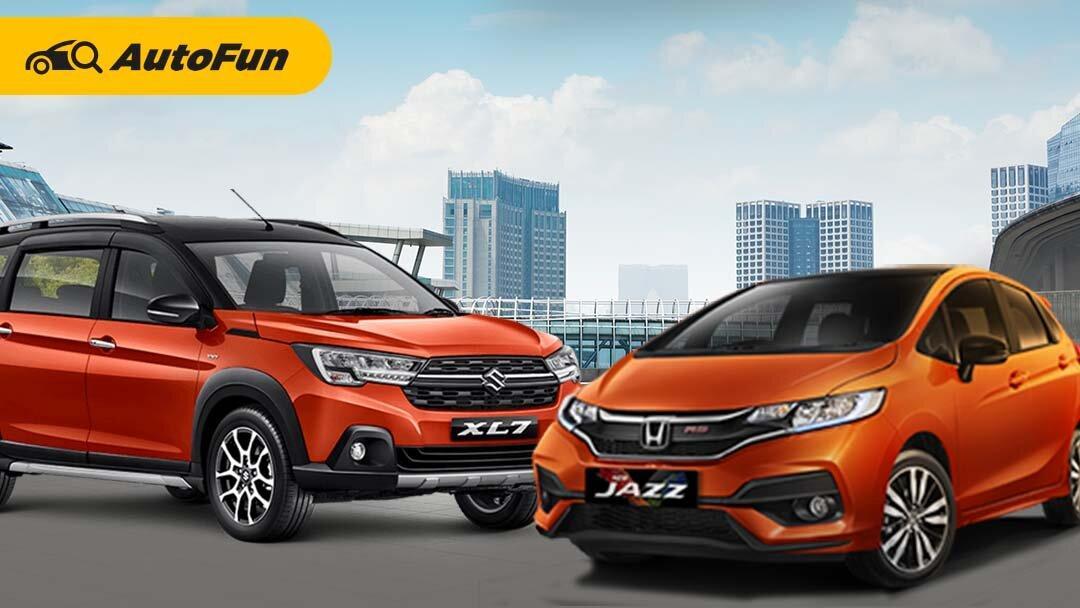 Adu LSUV vs Hatchback Rp300 Jutaan untuk Keluarga, Pilih Suzuki XL7 Alpha atau Honda Jazz RS CVT? 01