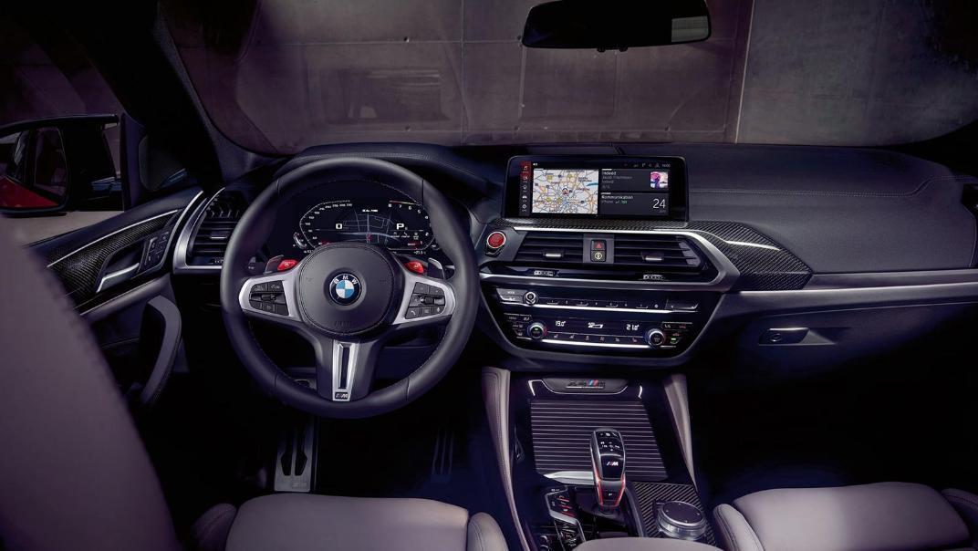 BMW X4 M 2020 3.0L Competition Interior 002