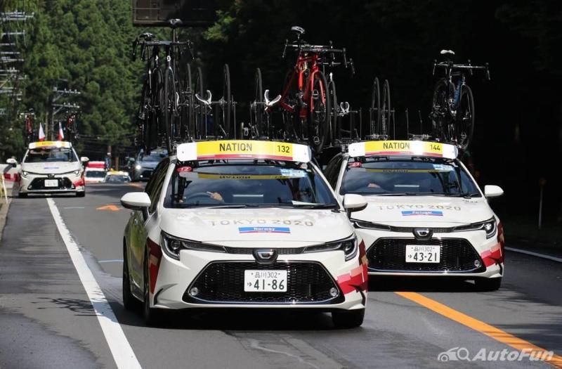 Mobil Toyota Olimpiade Tokyo 2020 -1