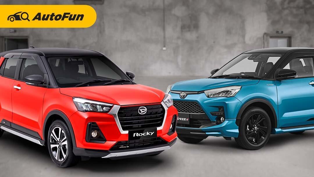 Lebih Murah dan Inden Cepat, Daihatsu Rocky Bisa Lebih Laris Manis Dibanding Toyota Raize 01