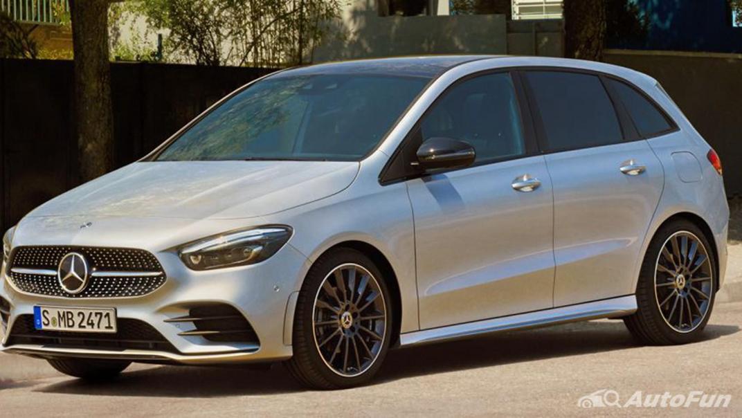 Mercedes-Benz B-Class 2019 Exterior 008