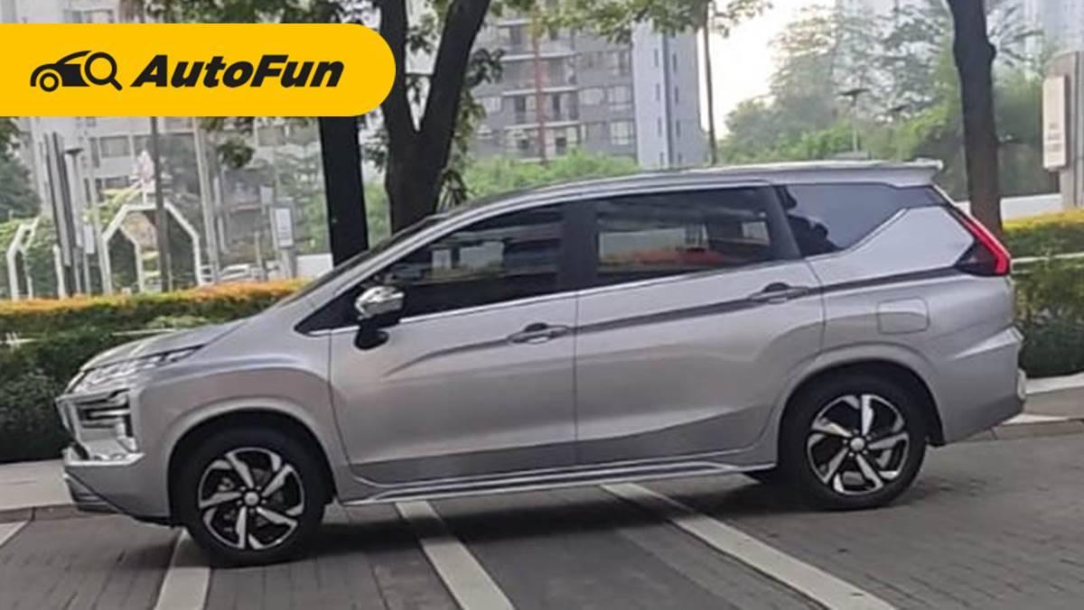 Mitsubishi Xpander facelift 2021