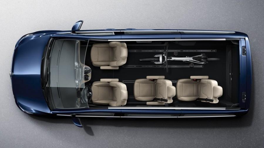 Mercedes-Benz V-Class 2019 Interior 012