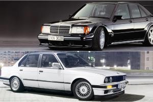 Jadi Incaran Kolektor, Pilih BMW E30 Mas Boy atau Mercedes-Benz W201 Baby Benz?