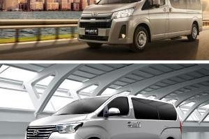 Adu Irit, Inilah Perbandingan Konsumsi Bahan Bakar Toyota Hiace Vs Hyundai H-1