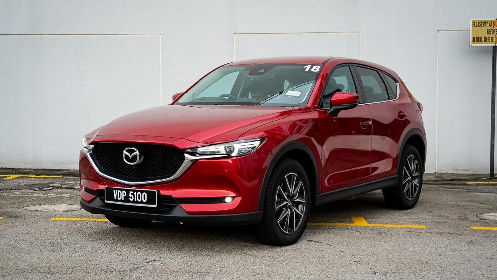 Mazda CX 5 2019 Exterior 002