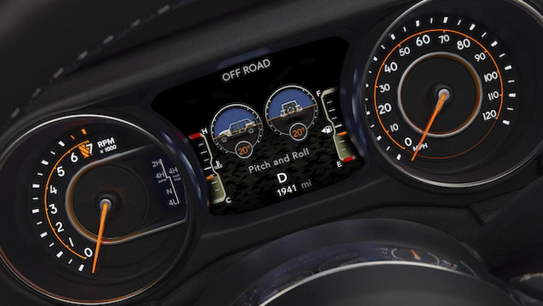 2021 Jeep Gladiator Interior 002