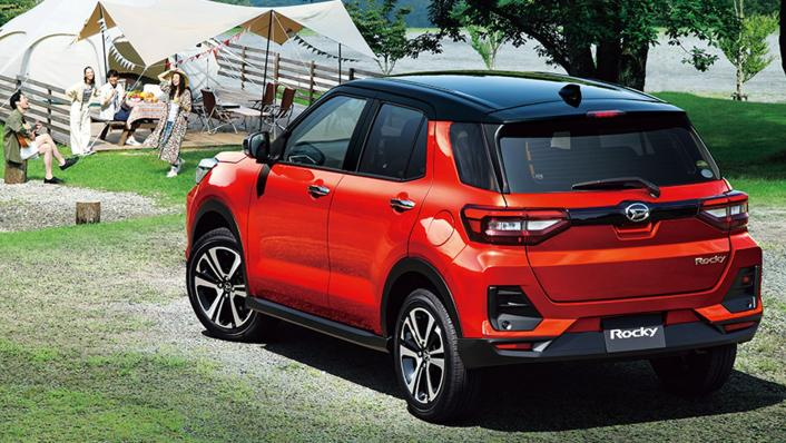 2021 Daihatsu Rocky Upcoming Version Exterior 002