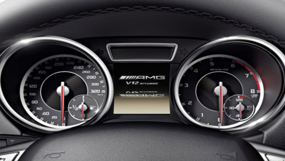 Mercedes-Benz G-Class 2019 Interior 007