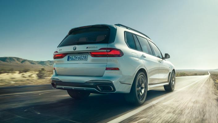2021 BMW X7 xDrive40i Opulence Exterior 008