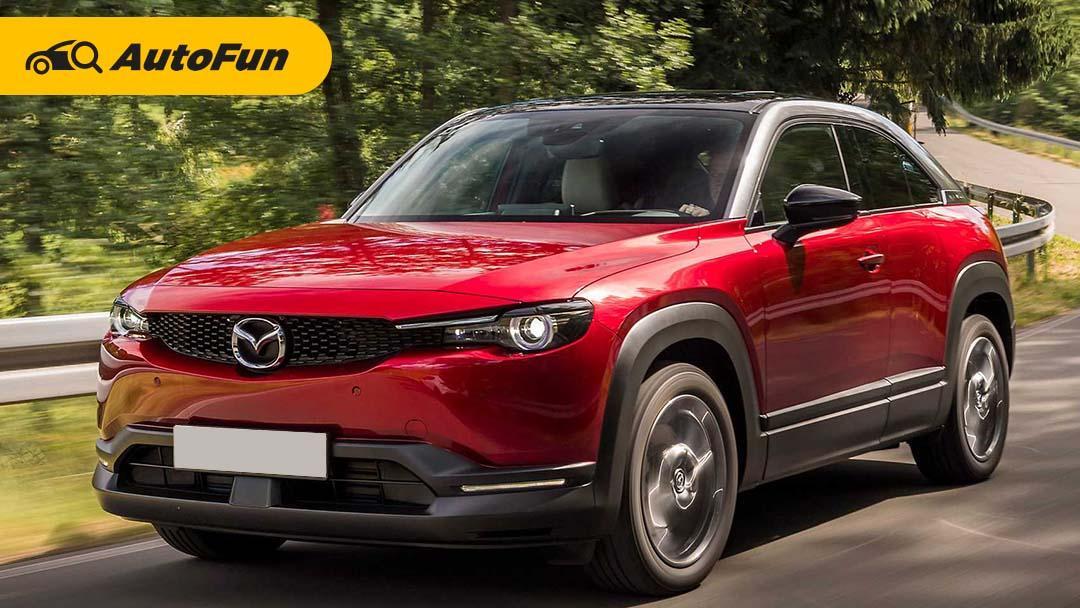 Mazda MX-30 2021, SUV Listrik Pertama Mazda yang Punya Tampilan Berbeda 01
