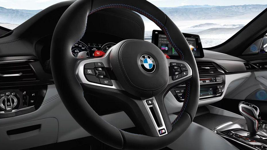 BMW M5 2019 Interior 002
