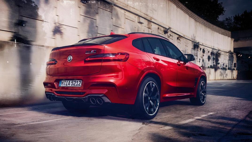 BMW X4 M 2020 3.0L Competition Exterior 002