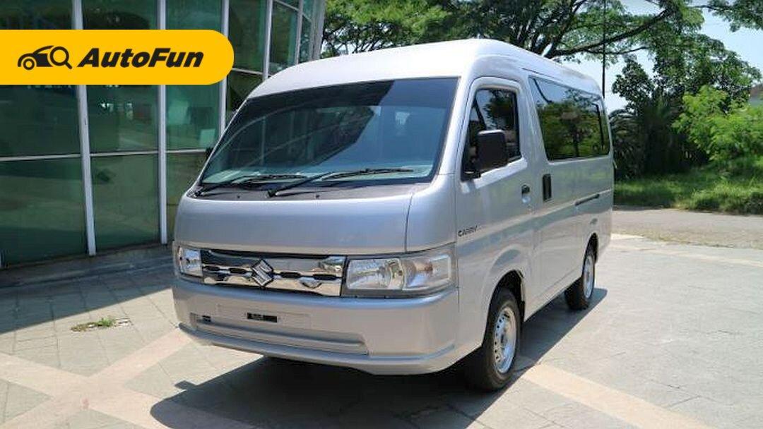 Harga Suzuki Carry Minibus 2021 Tembus Rp 262 Juta, Mending Beli Daihatsu Luxio atau Wuling Cortez? 01