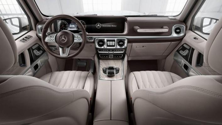 Mercedes-Benz G-Class 2019 Interior 001