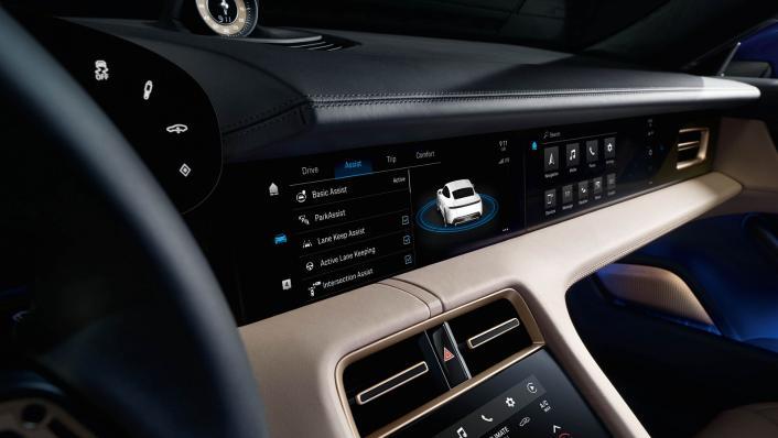 2021 Porsche Taycan Interior 005